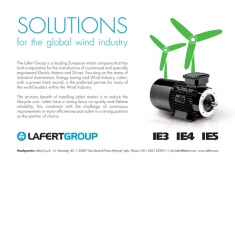 SOLUTIONS FOR THE GLOBAL WIND INDUSTRY 01/06/2016
